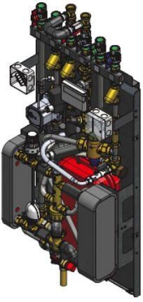 Inside 3000T Heat Interface Unit Heatlink - 3000t